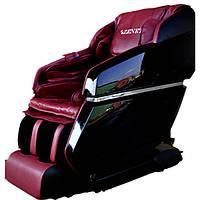 Массажное кресло для тела ZENET ZET 1670 вишневое