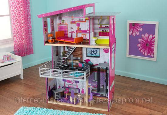 Домик для кукол Барби ТМ Kidkraft Luxury Beverly Hills 65871 - Интернет-магазин  La Flor - качественные товары и игрушки для детей! в Киеве