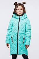 Осенняя куртка на девочку Жаклин Мята Nui Very