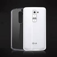 Чехол силиконовый Ультратонкий Epik для LG G2 D802 прозрачный