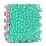 Мягкий коврик-пазл для игры и массажа ножек, фото 2
