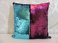 Подушка с пайетками  Код 10-4622