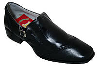 Детские кожаные туфли на мальчика VinnyBear, размер 34-39
