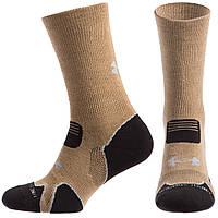 Чоловічі термо шкарпеткиUnder Armour рр. 40-45(Level-1) Coyote
