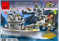 Конструктор brick 819 катер береговой охраны 509 деталей кк