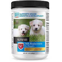 Заменитель сучьего молока Nutri-Vet Puppy Milk для щенков, 340 г