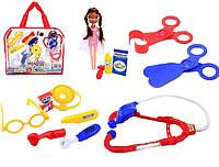 Детский набор доктора с куклой 116-48