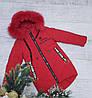 Зимняя куртка 18-30 на 100% холлофайбере размеры от 122 см до 146 см рост