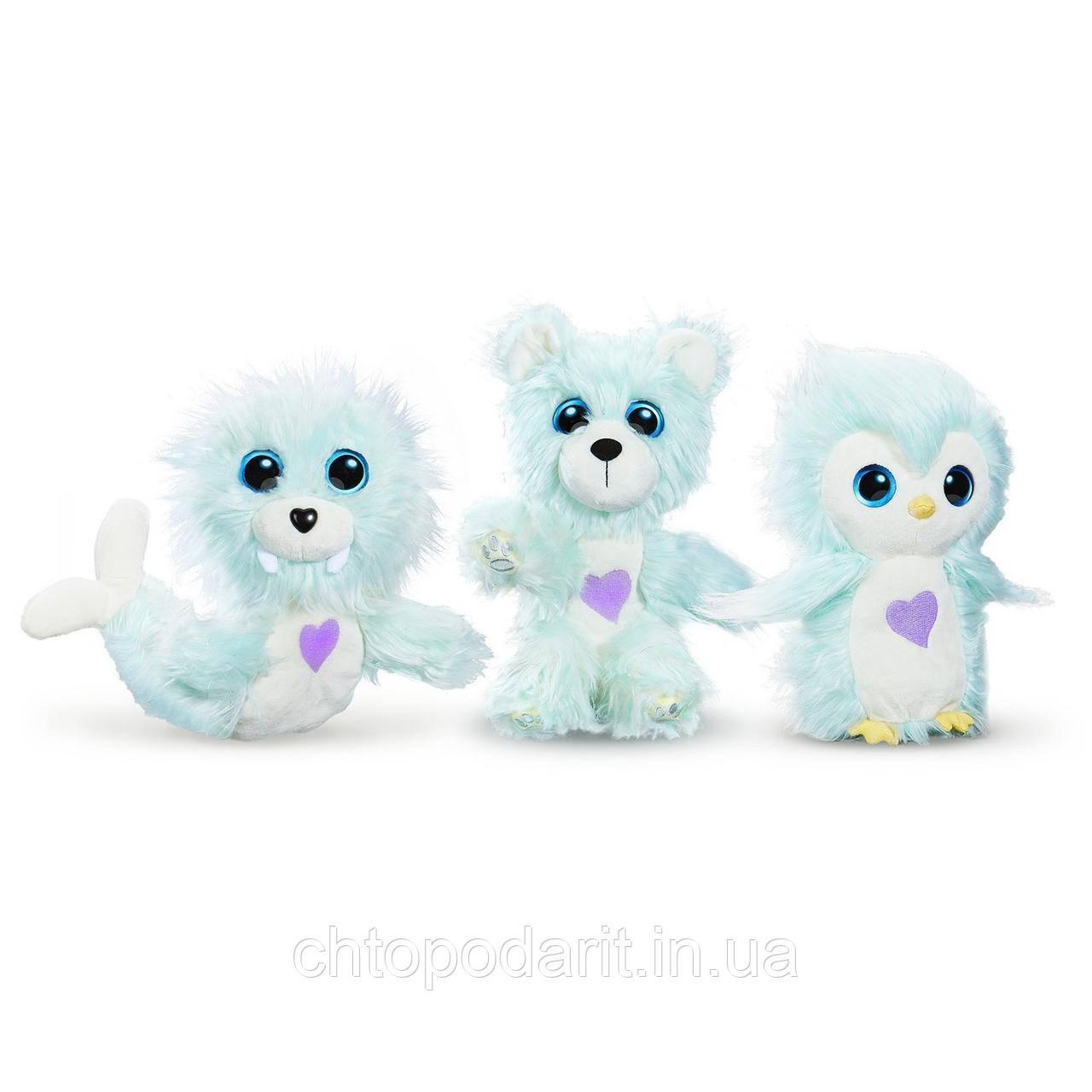Пушистик потеряшка «Снежные друзья» игрушка сюрприз Scruff A Luvs Snow Pals Код 12-2044