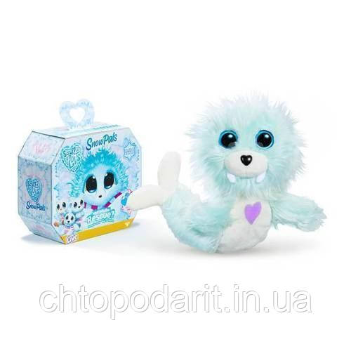 Пушистик потеряшка «Снежные друзья» игрушка сюрприз Scruff A Luvs Snow Pals Код 12-2222
