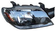 Фара правая Mitsubishi Outlander I (дорестайл) 2002 - 2005, механ., хром. рассеиватель, (Tempest, 036 0360 R2C) - шт.