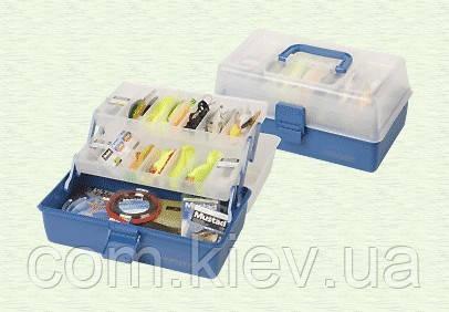 Ящик 2 полочки прозрачный верх Golden Catch 1222404