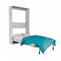 Шкаф - кровать трансформер, шкаф со встроенной кроватью 2001 белый