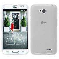 Чехол силиконовый Ультонкий для LG L90 D405 D410 прозрачный