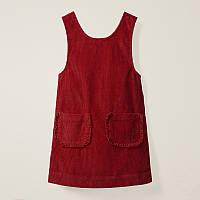 Сарафан для девочки Рюши, красный Little Maven (104)