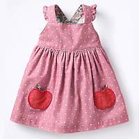 Платье для девочки Яблочки Little Maven (104)