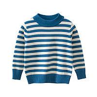 Свитер детский Синие полосы 27 KIDS