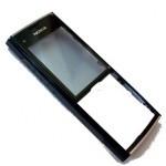 Панель передняя черная Nokia X2-00 (оригинал)