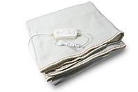 🔝Электроодеяло Electric Blanket (100 W, 150х155 см) Коричноевое, простынь с подогревом электро одеяло | 🎁%🚚