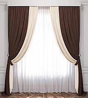 Готовые шторы в зал и спальню (Турция)