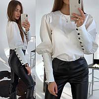 Модная Блуза Женская Котон
