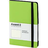 Записная книга блокнот Axent Partner Soft 125x195мм 96л точка,салатовый (8312-09-A)