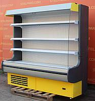 Холодильный регал «Росс Modena ВПХ-Г» 2.0 м. (Украина), LED - подсветка, Б/у, фото 1