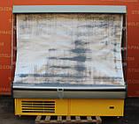 Холодильный регал «Росс Modena ВПХ-Г» 2.0 м. (Украина), LED - подсветка, Б/у, фото 3