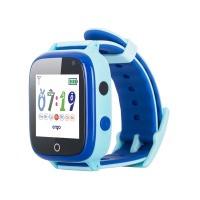 Детские смарт часы с gps трекером Ergo GPS Tracker Color C020 Синие с голубым (GPSC020B)