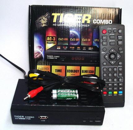 Тюнер Tiger Combo HD (прошитый)