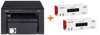 МФУ А4 ч/б Canon i-SENSYS MF3010 + картриджи 2xCRG725 (5252B034AA)