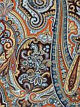 Фергана 1856-16, павлопосадский платок из вискозы с подрубкой, фото 5