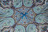 Східне подорож 1566-14, павлопосадский хустку (шаль) бавовняний (саржа) з подрубкой, фото 6