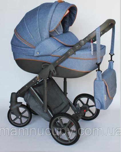 Детская универсальная коляска 2 в 1 Adamex Dragon X2 (адамекс драгон)