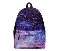 Рюкзак с принтом космос .Криво пришит карман
