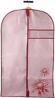 Чехол для одежды Handy Home Хризантема 100x60 см Розовый (UC-79)