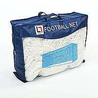 Сетка на ворота футбольные тренировочная безузловая (2шт) С-9017, фото 1