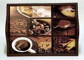"""Поднос на подушке с ручками """" Coffee """" 6021-1"""