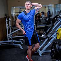 Шорты спортивные мужские fitU Sprint blue