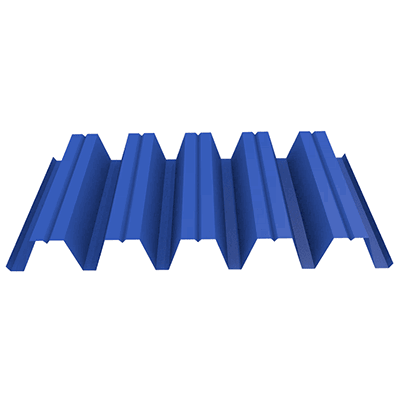 Профнастил НС44 0,45 (до 50 м2) 1065/1010 Полиэстер