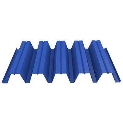 Профнастил НС44 0,45 (до 50 м2) 1065/1010 Цинк, фото 2