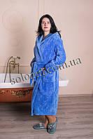 Женский мягкий махровый халат., фото 1