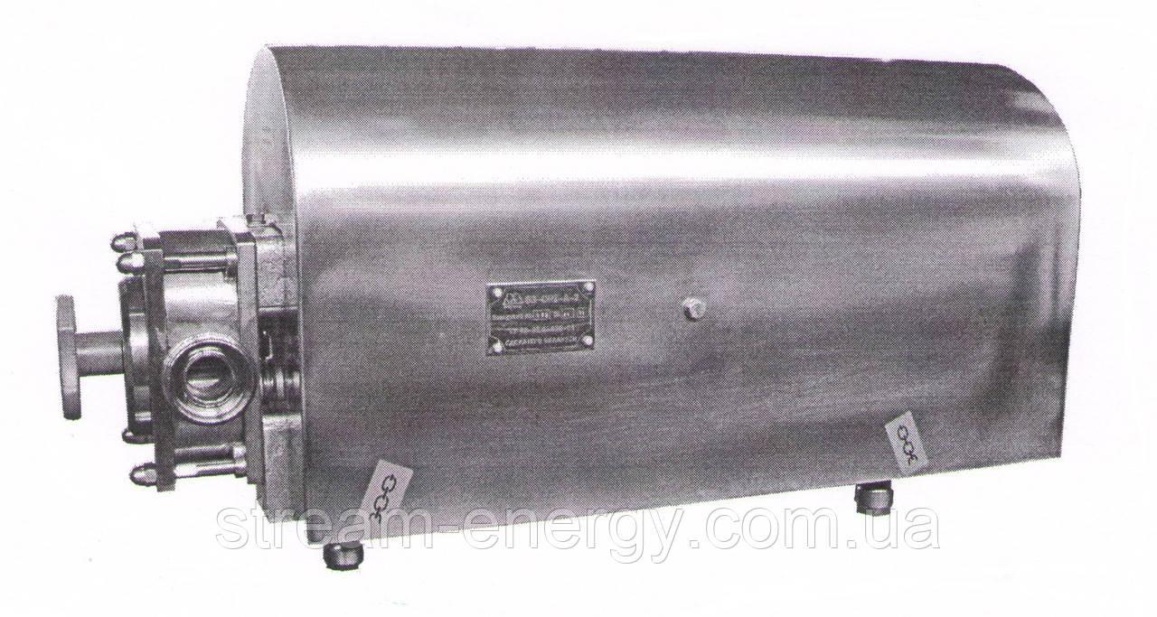 Роторный насос В3-ОР2-А-2 (К) с защитным кожухом (2м3/ч) 3-х лепестковый