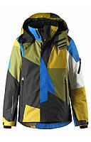 Жёлто-синяя куртка Wheeler для мальчика Reima