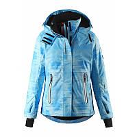 Голубая куртка Frost для девочки Reima
