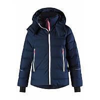 Темно-синяя куртка-пуховик для девочки Reimatec+ Active Waken