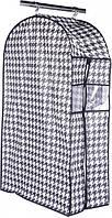 Чехол для одежды Handy Home Scotland 100x60x30 см Белый Чёрный (UC-123)