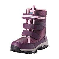 Ботинки зимние Lassie фиолетовые на искуственном меху с мембраной