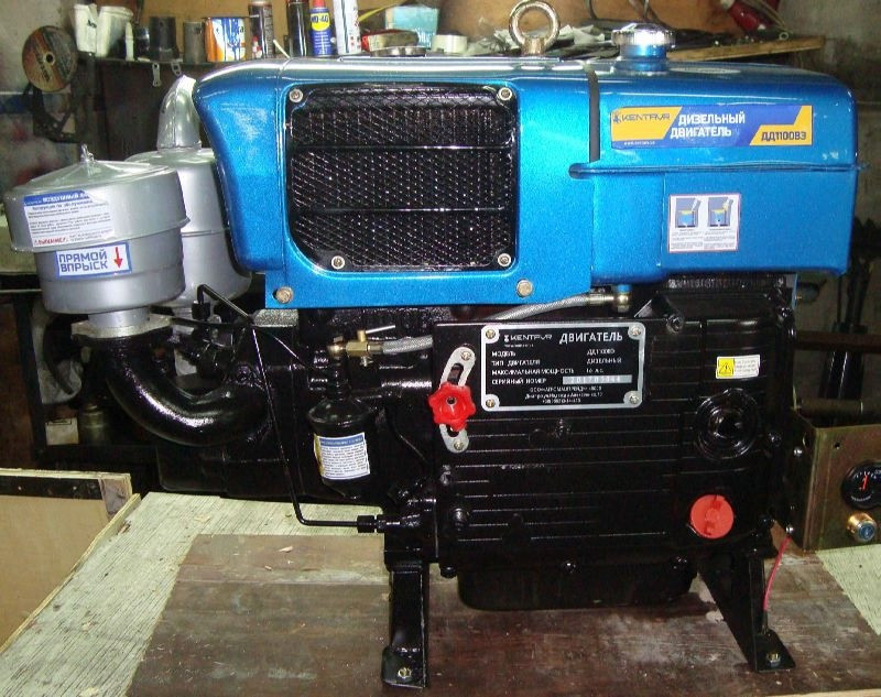 Дизельный двигатель ДД1100ВЭ (15 л.с.)