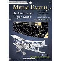 """3D Пазл, серия: Транспорт """"Самолет De Havilland Tiger Moth"""""""